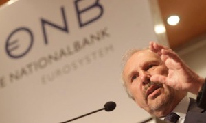 OeNB governor Nowotny attends the 39th Economics Conference in Vienna