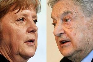 Merkel Soros