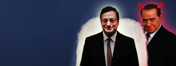 Draghi Berlusconi