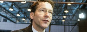 Netherlands' Finance Minister Jeroen Dijsselbloem arrives at a Euro Zone finance ministers meeting in Brussels
