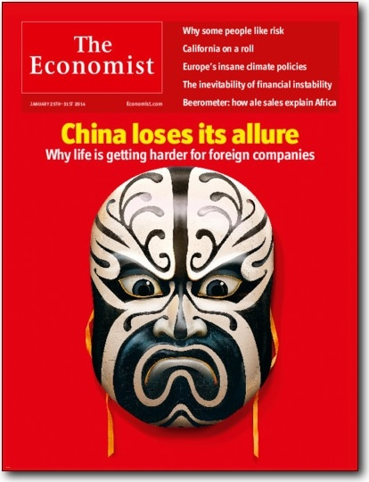China loses its allure