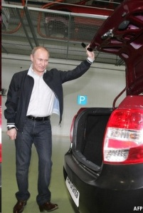Putin car