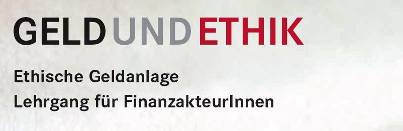 Geld und Ethik
