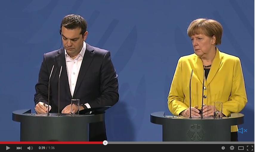 Merkel Tsipras Youtube