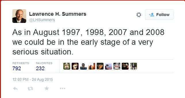 Summers Crisis