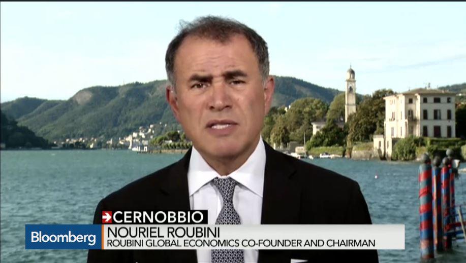 Roubini Cernobbio 2015