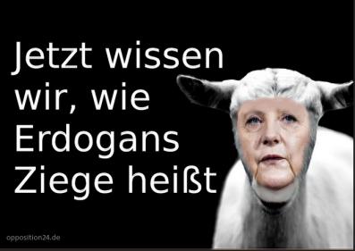 Merkel Ziege