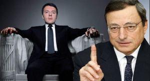 Renzi Draghi