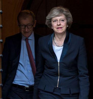 Theresa May & husband