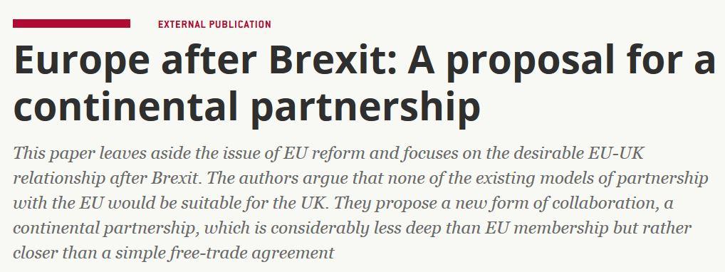 Bruegel Europe afer Brexit